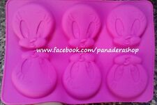 Tweety Bird Silicone Soap Chocolate Jelly Mold Molder
