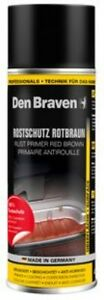 400ml Rostschutz Rotbraun Haftgrund Korrosionschutz Spray Den Braven Metallbau,