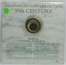 Millennium Coin Collection India Chola Dynasty 10th Century Coin LE791