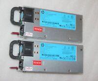 2 x HP ProLiant ML350p Gen8 G8 PSU Server Netzteil Swiching Power Supply