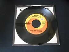 "PETER AND GORDON - A World Without Love b/w If I Were You 5175 7"" 45"