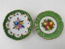 Keramik-Teller mit Blumen-Motiv