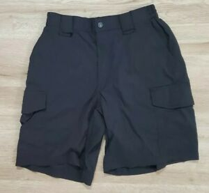 "5.11 Tactical Series Mens Shorts Size 30 Patrol 9"" Black"