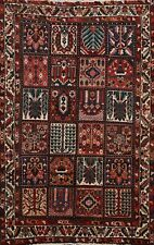 5'x7' Vintage Garden Design Bakhtiari Hand-knotted Area Rug Wool Oriental Carpet