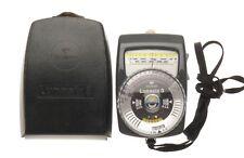GOSSEN Lunasix 3 System Exposure Meter in Original Pouch Ambient Studio Light