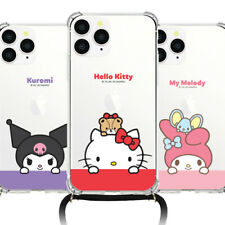 Genuine Hello Kitty Friends Hanging Phone Strap Case Galaxy Note20 Note20 Ultra