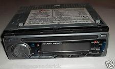 Prestige Audiovox P-98 Car Radio AM/FM/MPX With CD Player & Clock Works Great