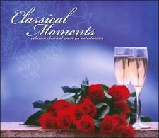 Classical Moments 2 CDs Relaxing Classical Music For Entertaining Minty CDs