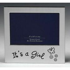 It's A Girl New Born Birth First Born Photo Frame Birthday Christmas Gift 72224