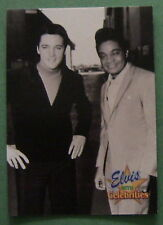 ELVIS PRESLEY WITH CELEBRITIES, 1992 COLLECTION #315 CARD, JACKIE WILSON