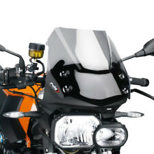 PUIG SAUTE VENT NAKED N.G. BMW F800 R ANNO 2011 COLORE FUME CLAIR VERSIONE SPORT