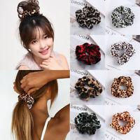 Hair Accessories Rubber Band Leopard Hair Scrunchies Hair Rope Hair Ring