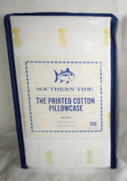 SOUTHERN TIDE King Pillowcases PINEAPPLE yellow green TROPICAL