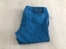Diesel Nevy Mujer Jeans Azul Brillante delgados elastizados tamaño W30L lavado 000A7