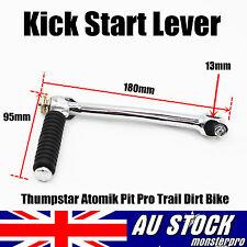 Silver Kick Start Starter Lever for 110cc 125cc PIT Trail Dirt Bike Thumpstar