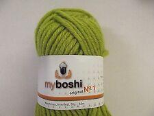 Wolle zum Stricken myboshi No 1 Fb 128 / palme ( 500 gr )