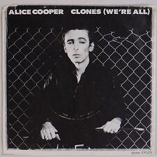 ALICE COOPER: Clones (We're All) USA WB Promo Hard Rock 45 NM Wax