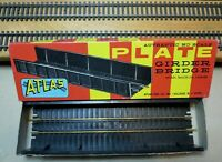 """ATLAS #85 HO Scale PLATE GIRDER BRIDGE BUILDING KIT With BLT-IN 9"""" Track Section"""