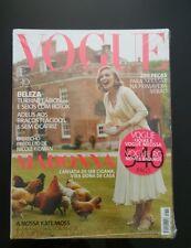 MADONNA ULTRA RARE Cover Vogue Magazine Brasil collectors edition Still Sealed !