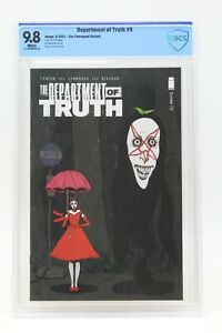 Department of Truth (2020) #9 Zoe Thorogood CBCS 9.8 Blue Label White Pages