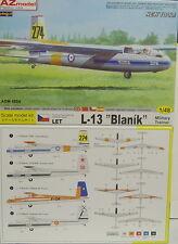 L-13 Blanik ,International, AZ Model, Plastikbausatz, 1:48, NEU!