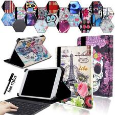 For Linx 7 8 10 inch Tablet Leather Stand Cover Case + Bluetooth Keyboard + Pen