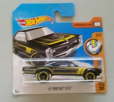 Hot Wheels  '67 Pontiac GTO Black SHORT CARD 2017