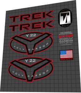 1996 TREK Y22 COMPETITION frame decal set