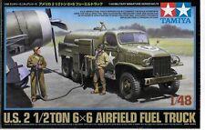Tamiya US 2 1/2 Ton 6X6 Airfield Fuel Truck in 1/48 32579  ST