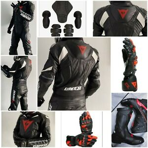 Dainese Replica Complete Racing protection set (suit+ 1pair gloves+ 1 pairshoes)