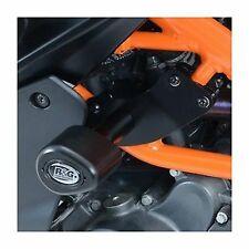 R&G RACING Aero no-cut Frame Sliders, KTM RC125/200/390 BLACK