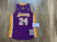 100% Authentic Kobe Bryant 24 Mitchell & Ness Los Angeles Lakers Finals Jersey