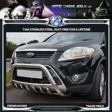 FORD KUGA BULL BAR CHROME AXLE NUDGE A-BAR 60mm 2007-2012 STAINLESS STEEL NEW