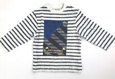 NEW 3 POMMES BOYS long sleeved t-shirt top french designer brand 6-9 months NWOT