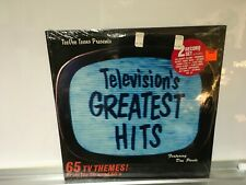 Television's Greatest Hits SEALED Double(2) Lp feat. Don Pardo