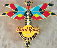 Hard Rock Cafe HONG KONG THE PEAK 2004 DRAGONFLY GUITAR Series PIN - HRC #24021