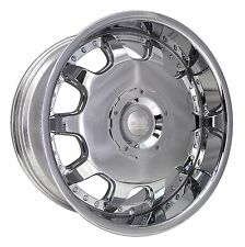 (1) HD Wheels Rims LADECA 18x7.5 5x110 / 5x114.3 et42 Chrome