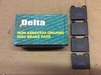 New Delta 763-D31 Organic Disc Brake Pad Pads
