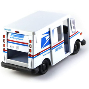 U.S. Mail Delivery Truck Postal Service Diecast Model Toy Display Car White USPS