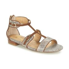 Ravel Ritzville Snake Print Simple Dress Flat T-Bar Roman Gladiator Sandals UK 5