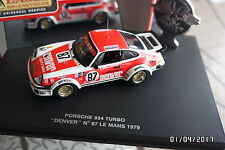 PORSCHE 934 TURBO LE MANS 1979 DENVER NEUF BOITE