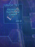 Ark Survival Evolved Xbox One PVE 78 Asd Rock Drake Pre Made Saddle