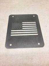 Jeep Wrangler TJ Tailgate Spare Tire Delete Plate 1997-2006 America  Flag Plate