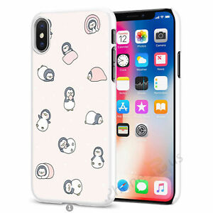 Penguin Case Cover For Apple iPhone Samsung Huawei Nokia Etc S010-1