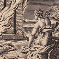 Gravure XVIIIe Médée Cruauté Medea Μήδεια Mếdeia Медея Jason Argonautes