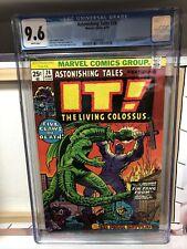 Astonishing Tales #24 (Marvel 1974) CGC 9.6 Fin Fang Foom Shang Chi