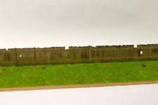 LASER CUT OLD WOODEN LINESIDE FENCING N GAUGE 1:148 MODEL RAILWAY LX077-N