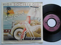 "Laid Back / High Society Girl 7"" Vinyl Single 1983 mit Schutzhülle"