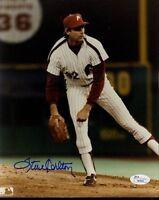 Steve Carlton Signed Jsa Certed 8x10 Photo Autograph Authentic