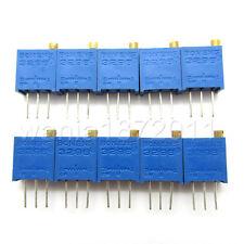 10 X New 20K Ohms 3296W Trimmer Trim Potentiometer Pot Resistors 203